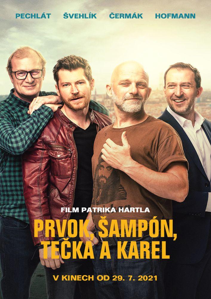 Prvok, Šampón, Tečka a Karel (2021)